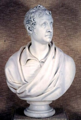 Bust of Thomas Campbell