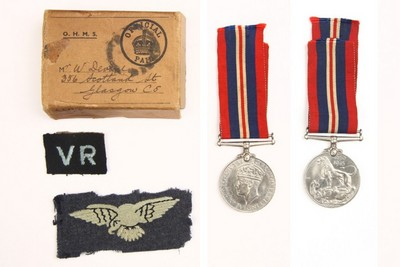 William Devine's Medals and Badges