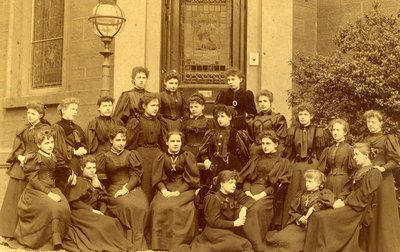 First Diplomates of Notre Dame Training College, 1896