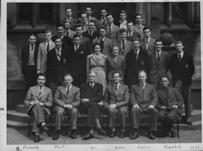 Department of Natural Philosophy 1952