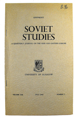 Soviet Studies Journal cover