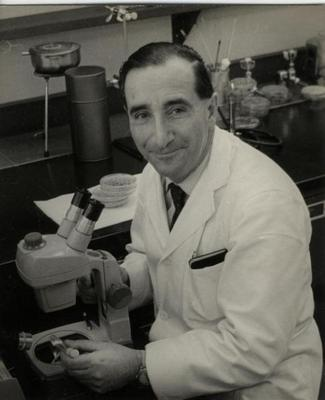 Guido Pontecorvo at the Albert Einstein College of Medicine, Autumn 1964