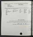 Donald Dewar's matriculation record page 2, 1957