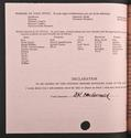Neil MacCormick's matriculation record page 2, 1959