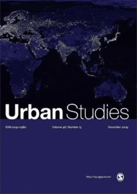 Urban Studies Front Cover