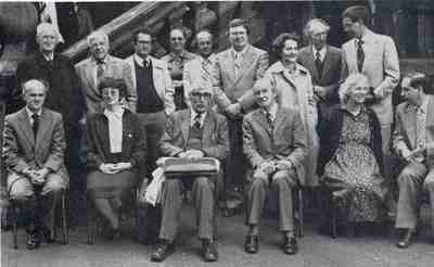 Monteath Robertson's 80th birthday conference at the University, September 1980