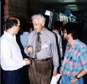 Roy Crowson at the International Congress of Coleopterology of Barcelona, 1989