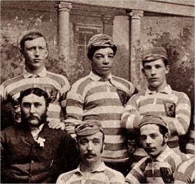 Andrew Watson  (top centre)