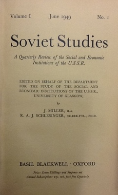Soviet Studies Journal 1949