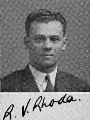 Reginald Victor Rhoda