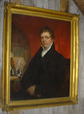 Samuel Brown Wylie, Portrait by John Neagle