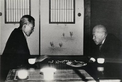 Tatsu Okubo (on left) and Bunji Mano