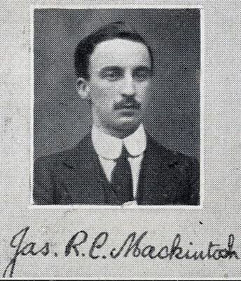 James Robertson Cowper Mackintosh