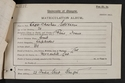 Edgar Christian Salvesen, matriculation slip 1904-05