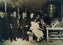 Visit from King of Spain to Vigo factory in 1927