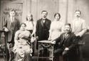 Gelfer family in 1924, Eliezer centre
