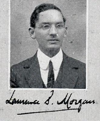 Lawrence Sebastian Morgan, MBChB 1914