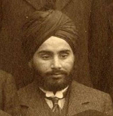 J Singh, Department of Engineering and Naval Architecture 1909-10