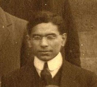 A R Madan, Department of Engineering and Naval Architecture 1909-10