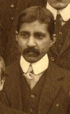 B L Garr, Department of Engineering and Naval Architecture 1909-1910
