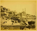 Benares. The Great Mosque of Aurungzebe, and Adjoining Ghats