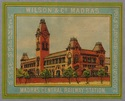 Textile label for Wilson & Co., Madras
