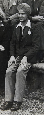 Nirmal Singh Rihal at Auchendennan Freshers' Camp, September 1949