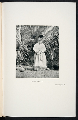 Photograph of the King of Niue