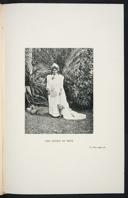 Photograph of the Queen of Niue