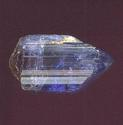 Crystal of blue zoisite or tanzanite