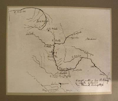 Copy of Livingstone's sketch map