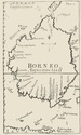 Map of Borneo (1710s)