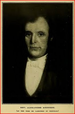 Portrait of Alexander Kennedy in Port of Spain