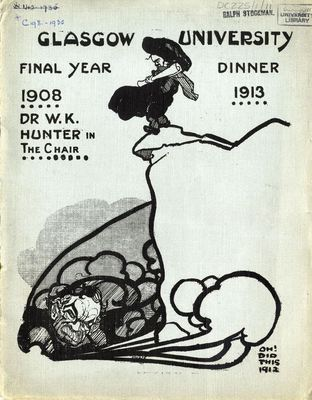Medical Dinner Book, 1913, Front Cover