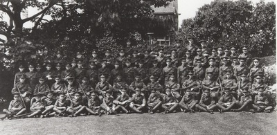 Bromsgrove School Officer Cadet Corps, 1911/1912