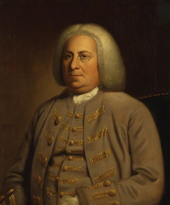 Robert Dinwiddie by Unknown artist