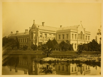 Charles Nettleton, University of Melbourne Arts and Law buildings, 1870–9