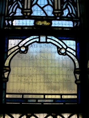 Hugh Calderwood memorial window