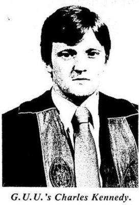 Charles Kennedy, published in Glasgow University Guardian 16 October 1980