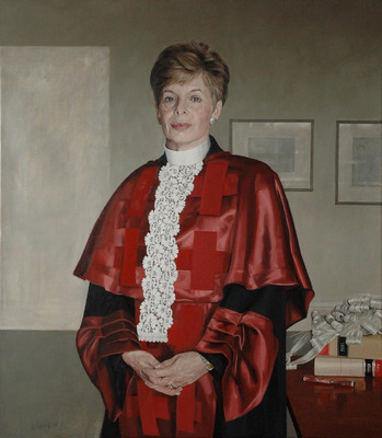 Lady Cosgrove (portrait by David Reid)
