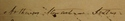 Arthur Stewart, signature in Register of Doctors of Medicine, 1820