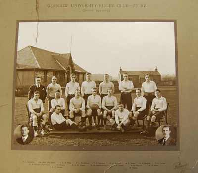 Glasgow University Rugby Club 1912-1913 season