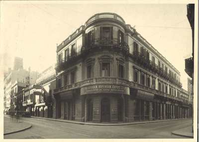Gourock Ropeworks building in Buenos Aires, Argentina 1950s