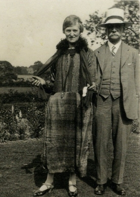 Gilbert Petgrave Johnson and wife Caroline Jessie