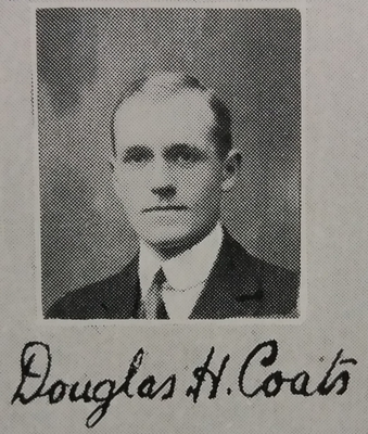 Douglas Hamilton Coats - Final Year Medical Dinner Book
