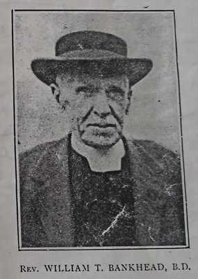 Reverend William Thomson Bankhead